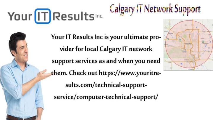 Calgary IT Network Support - www.youritresults.com